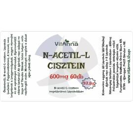 Acetil-l-cisztein kapszula 500MG 60DB