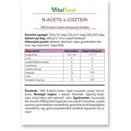 Acetil-l-cisztein por 100g