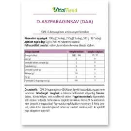 D-Aszparaginsav (DAA) por 100g