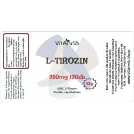 L-Tirozin kapszula 250MG 120DB
