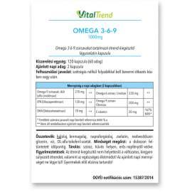 OMEGA 3-6-9 kapszula 1000MG 120DB