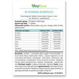 B-vitamin komplex 120DB