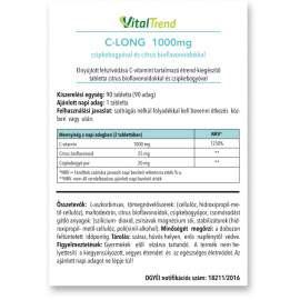 C-vitamin 1000 MG (TR) tabletta 90DB