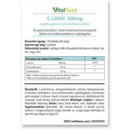 C-vitamin 500 MG (TR) tabletta 120DB