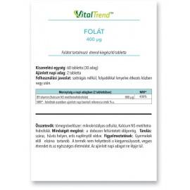 Folsav tabletta 400µg 120DB
