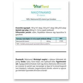 Nikotinamid (B3 vitamin) por 100g