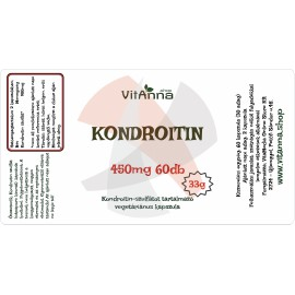 Kondroitin-szulfát kapszula 450MG 60DB
