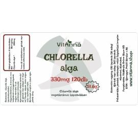 Chlorella alga kapszula 330MG 120DB