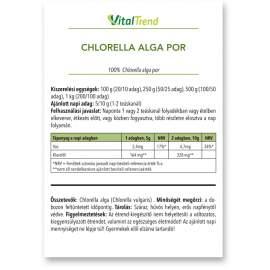 Chlorella alga por 100g