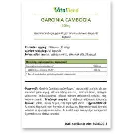 Garcinia Cambogia kapszula 500MG 120DB