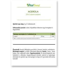 Acerola kivonat por 250g