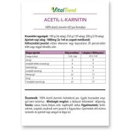 Acetil-l-karnitin por 250g