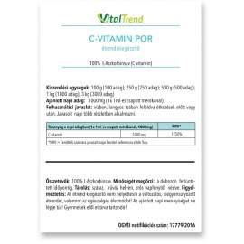 C-Vitamin por 250g