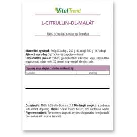 Citrullin-malát por 250g