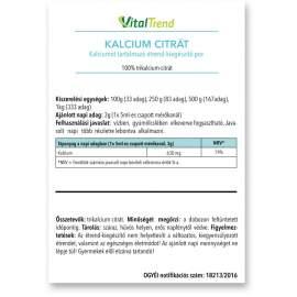KALCIUM-CITRÁT POR 1kg