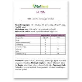 L-LIZIN POR 500g