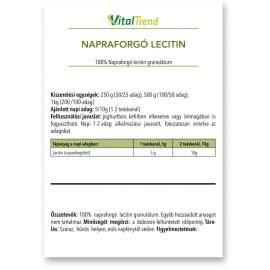 Lecitin granulátum (NAPRAFORGÓ) 1kg