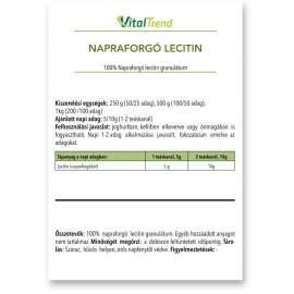 Lecitin granulátum (NAPRAFORGÓ) 500g