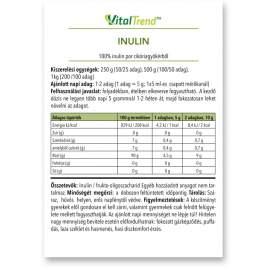 Inulin por 500g