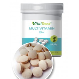 Multivitamin B+ tabletta 90 db
