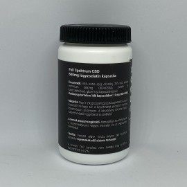 DUNAHEMP Full Spektrum CBD 600mg lágyzselatin kapszula